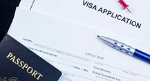 Free visa support
